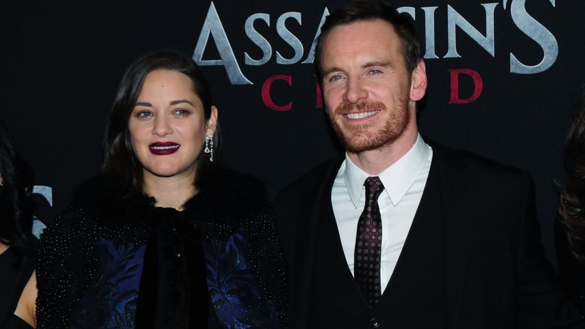 Marion Cotillard und Michael Fassbender in New York