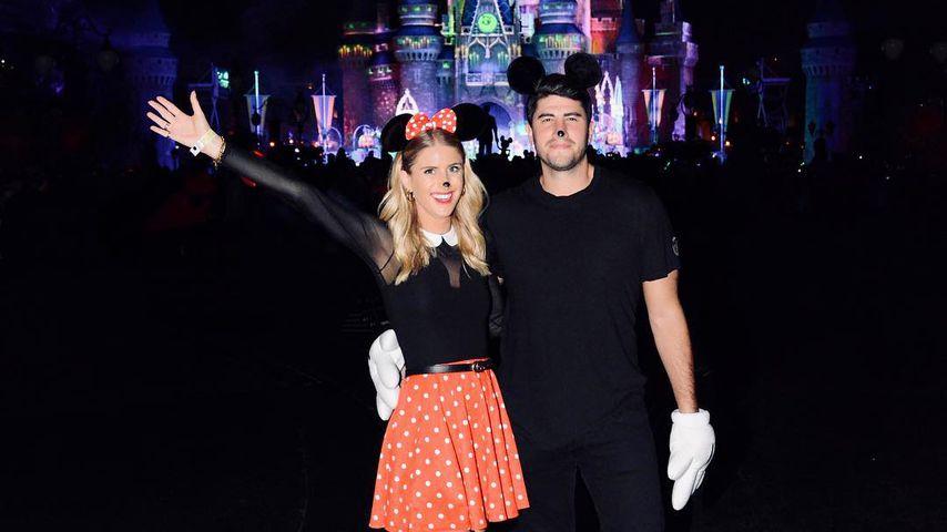 Marissa Casey Fuchs und Gabriel Grossman im Disneyland, 2018