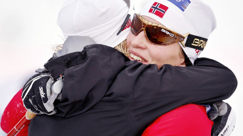 Marit Bjørgen und Vibeke Skofterud