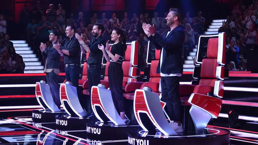 "Mark Forster,  The BossHoss , Yvonne Catterfeld und Sasha bei ""The Voice Senior"""