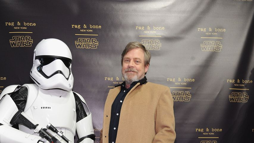 Mark Hamill bei dem Launch der The rag & bone X Star Wars-Kollektion 2017