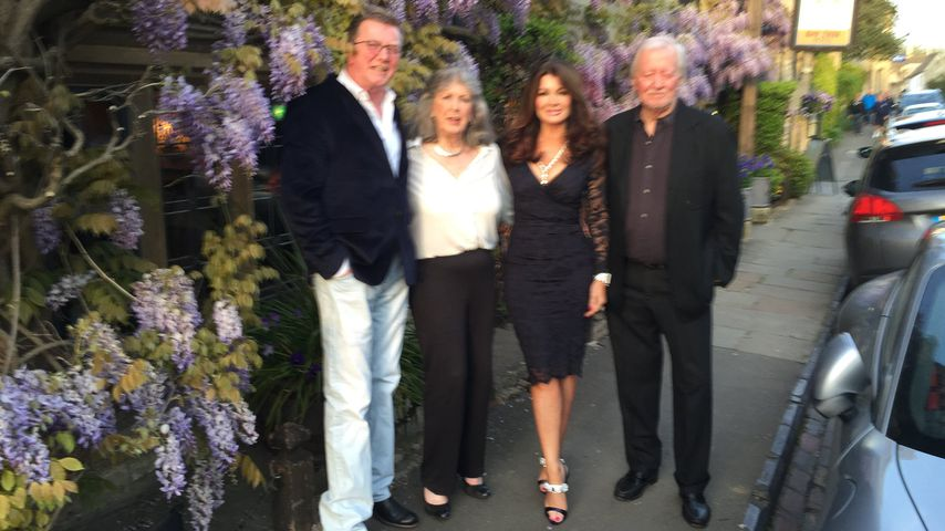 Mark, Jean und Lisa Vanderpump