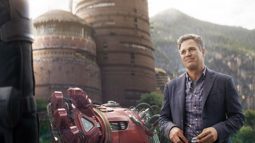 "Mark Ruffalo in ""Avengers: Infinity War"""