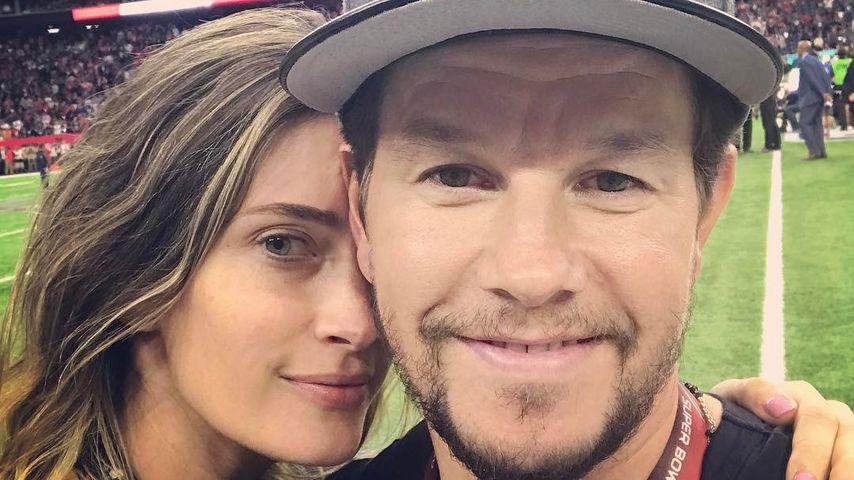 Mark Wahlberg mit seiner Frau Rhea Durham