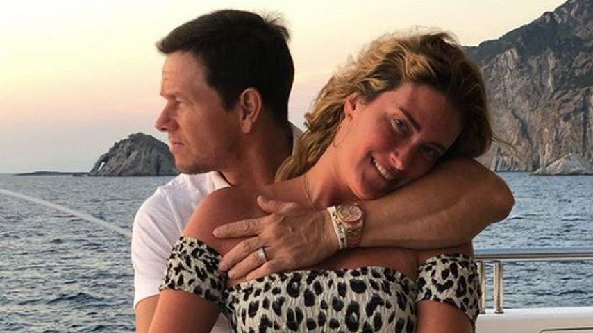 Mark Wahlberg mit seiner Frau Rhea