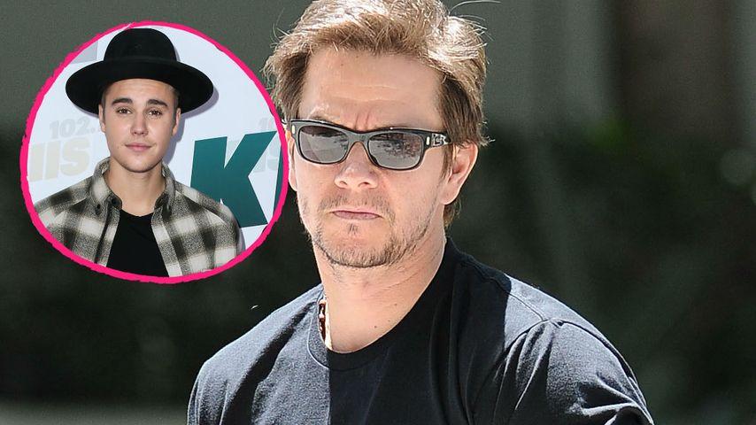 Oha! Justin Bieber schickt Unterwäsche-Pics an Mark Wahlberg