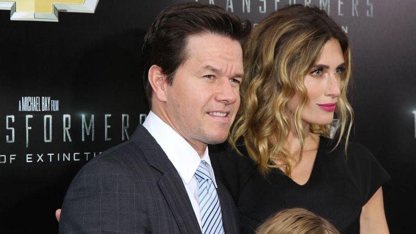 Mark Wahlberg und seine Ehefrau Rhea