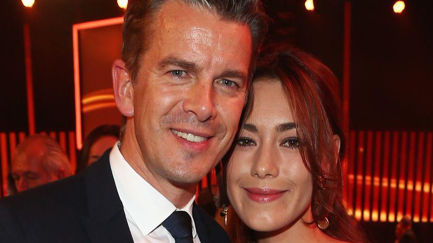 Markus und Angela Lanz bei den BAMBI Awards 2012