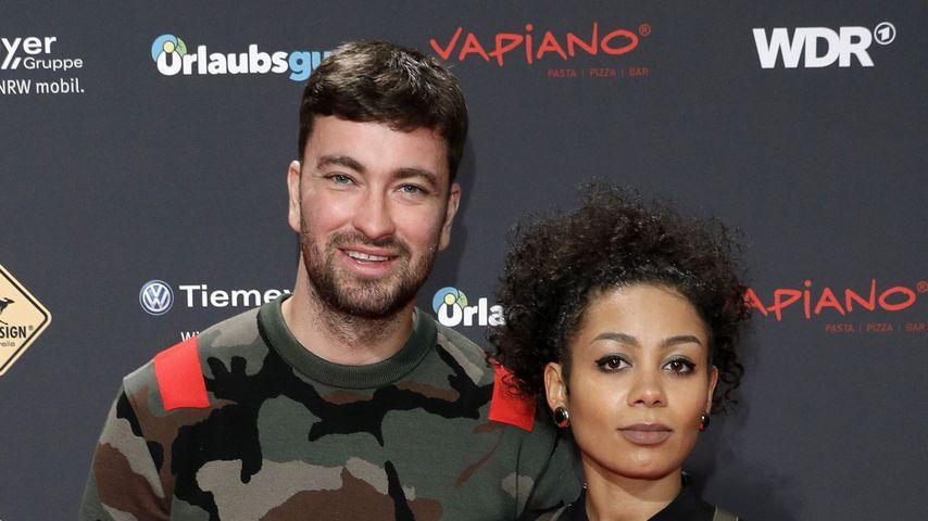 Marteria und seine Ex Jadula im Dezember 2017 in Bochum