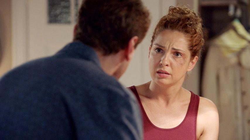 Häusliche Gewalt bei GZSZ: Jetzt setzt sich Nina zur Wehr!