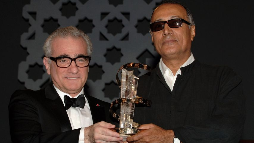Martin Scorsese und Abbas Kiarostami beim Marrakesh International Film Festival 2005