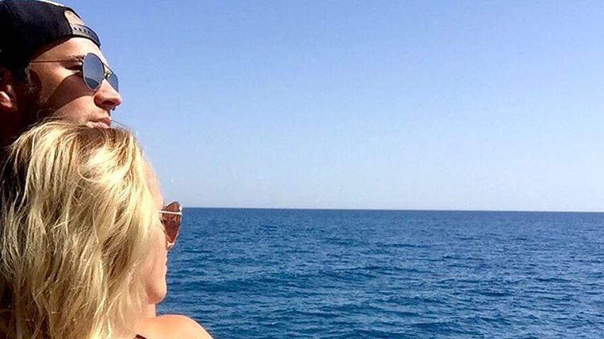 Marvin Albrecht und Anna Hofbauer im Urlaub in der Türkei