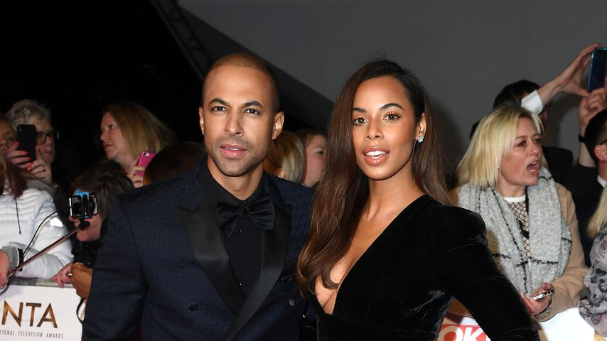 Marvin und Rochelle Humes bei den National Television Awards 2020