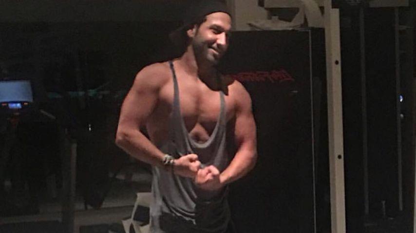Massimo Sinató im Gym: Vom grazilen Tänzer zum Muskelprotz?