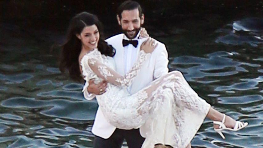 Hochzeits-Fotos: So schön war Rebecca Mir als Braut!