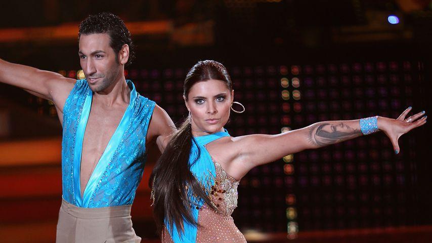 "Massimo Sinató und Sophia Thomalla bei ""Let's Dance"" 2010"