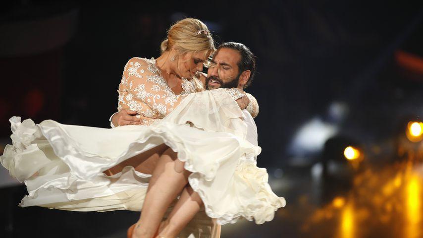 """Massimo Sinató und Angelina Kirsch in """"Let's Dance""""-Show fünf"""