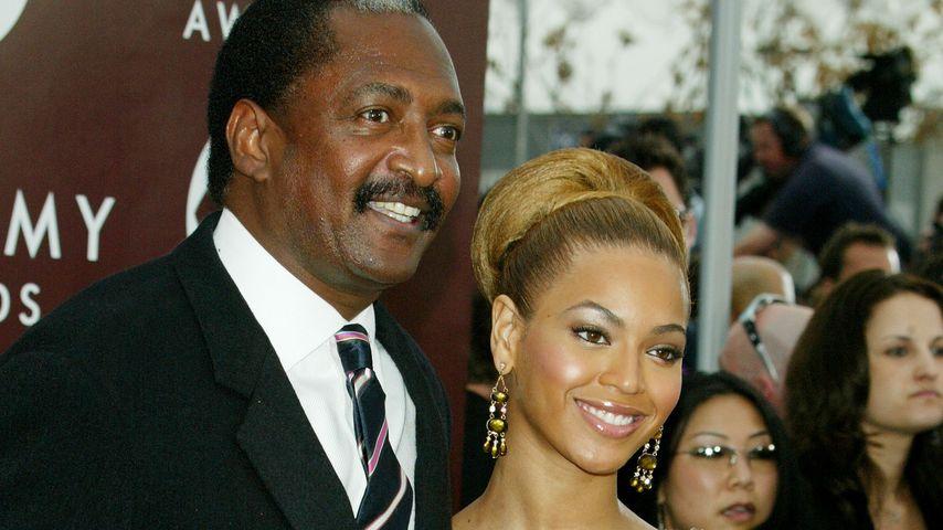 Mathew Knowles und Beyoncé