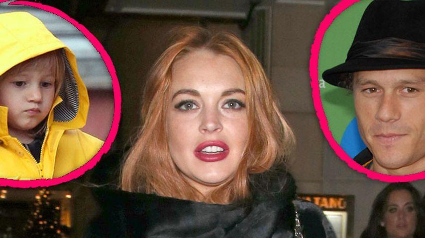 Lindsay Lohan twittert über Heath Ledgers Tochter