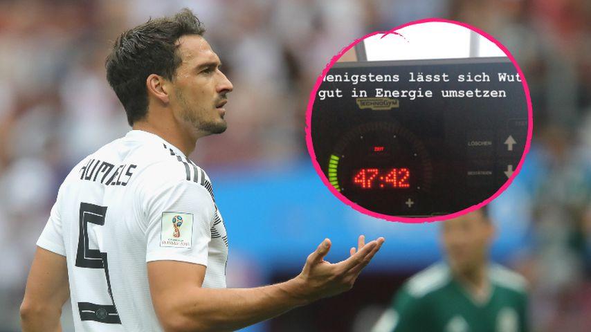 Wut in Energie: So verarbeitet Mats Hummels WM-Niederlage!