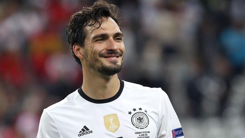 Mats Hummels beim EM-Spiel Deutschland gegen Polen