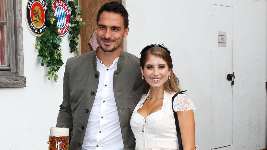 Mats und Cathy Hummels auf dem Münchener Oktoberfest