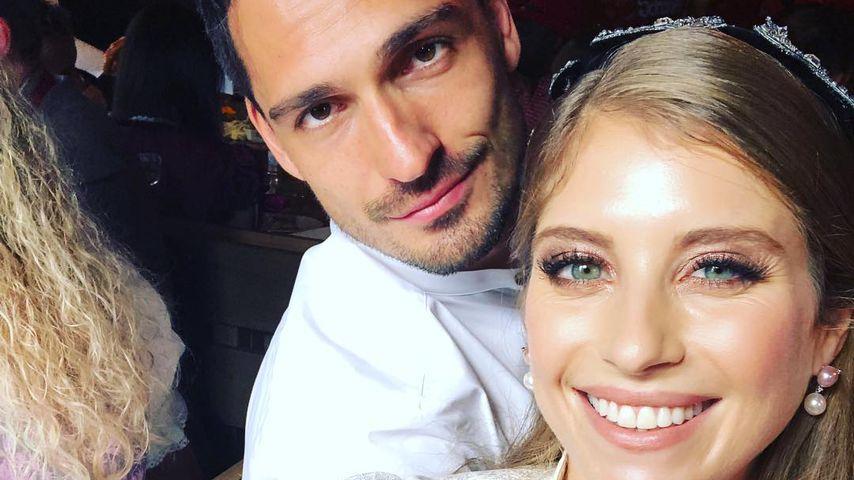 Mats und Cathy Hummels auf dem Oktoberfest 2018
