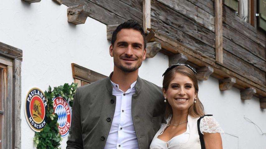 Mats und Cathy Hummels im Oktober 2018 in München