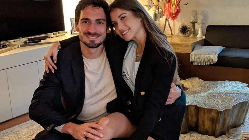 Mats und Cathy Hummels im März 2019