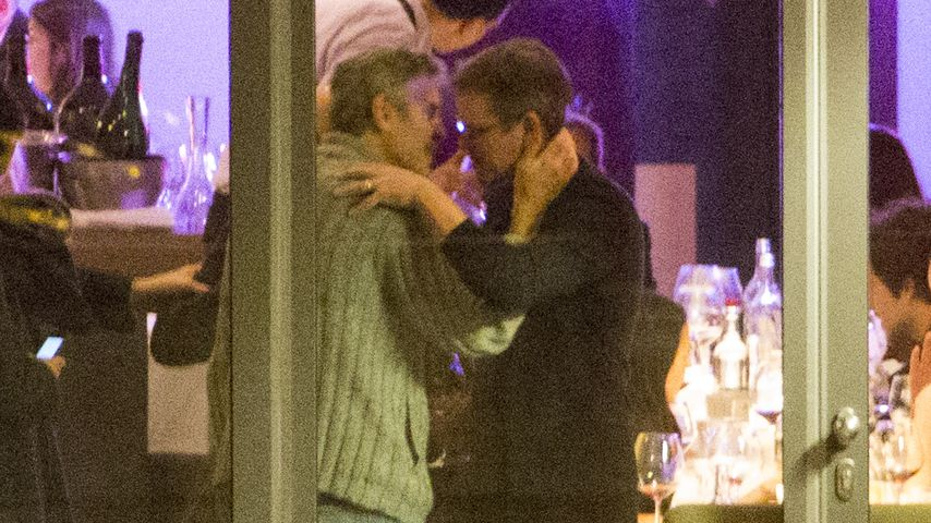 Matt Damon & George Clooney: Bromance in Berlin
