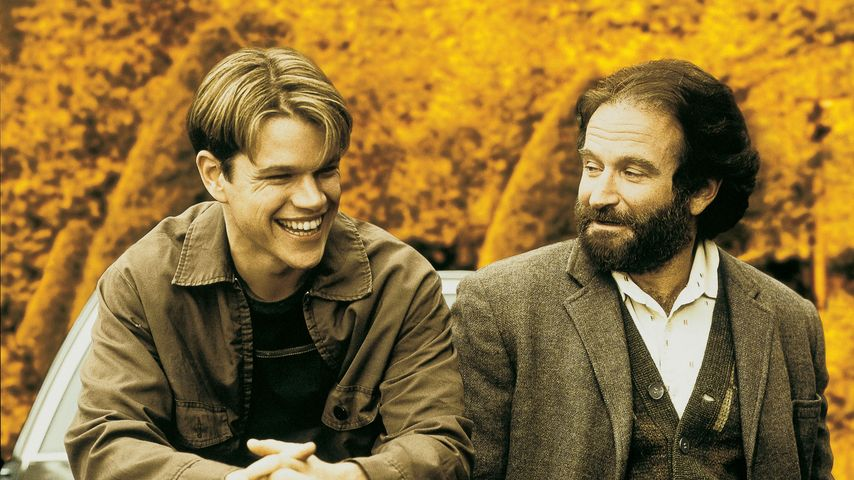 Matt Damon (l.) und Robin Williams