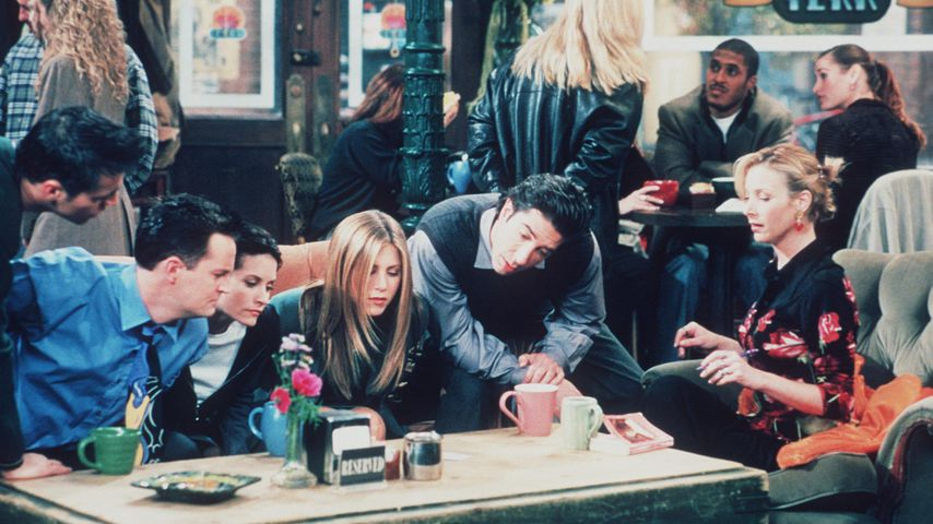 Matt Le Blanc, Matthew Perry, Courteney Cox, Jennifer Aniston, David Schwimmer und Lisa Kudrow