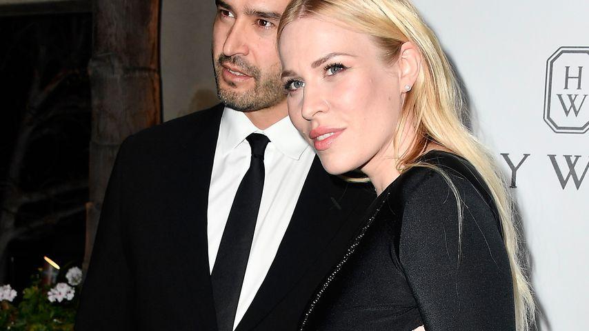 Matt Robinson und Natasha Bedingfield bei der amfAR Gala in Beverly Hills