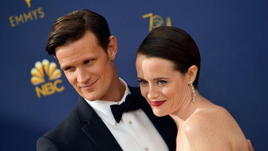 "Bei ""The Crown"" verliebt? Matt Smith soll Claire Foy daten"