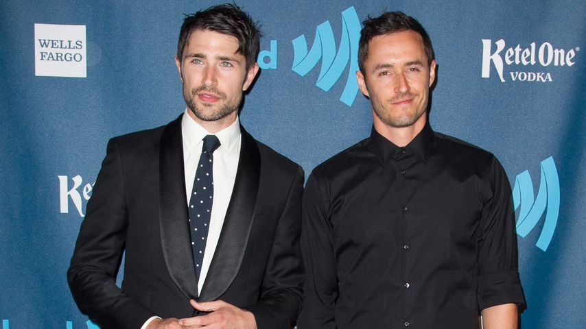 Blue Hamilton und Matt Dallas