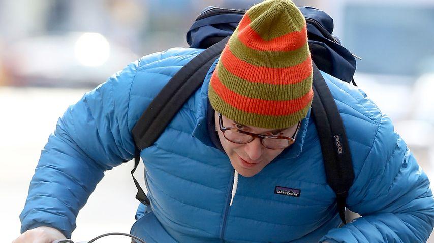 Fast elegant: Matthew Broderick macht eine Radtour