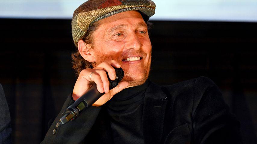 """Matthew McConaughey bei einer Filmvorführung von """"The Gentleman"""" in NYC im Januar 2020"""
