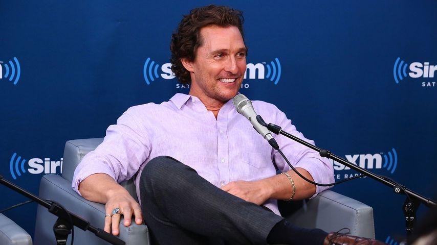 """True Detective""-Star Matthew McConaughey"