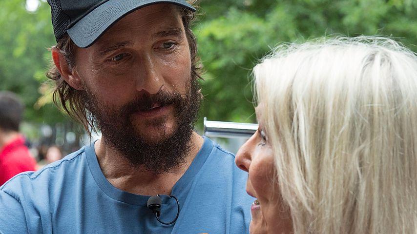 Matthew McConaughey mit seiner Mutter