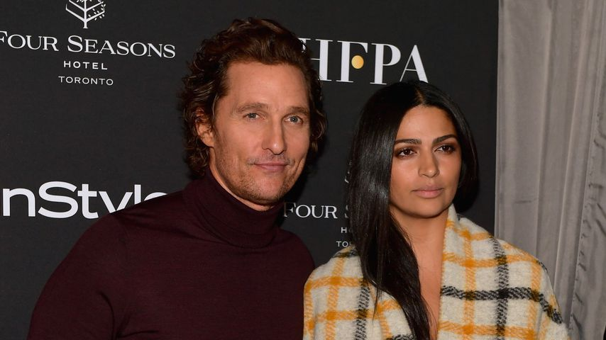 Matthew McConaughey und Camila Alves im September 2018 in Toronto