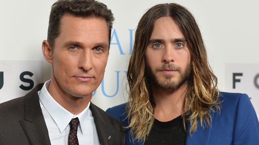 """Matthew McConaughey und Jared Leto auf der """"Dallas Buyers Club""""-Premiere im Oktober 2013"""