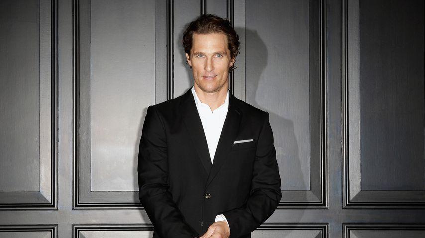 """Matthew McConaughey bei der Premiere von """"Der Mandant"""""""
