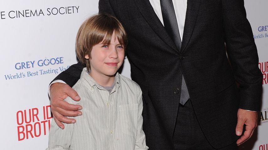 Schauspieler Matthew Mindler und Paul Rudd im August 2011 in New York City