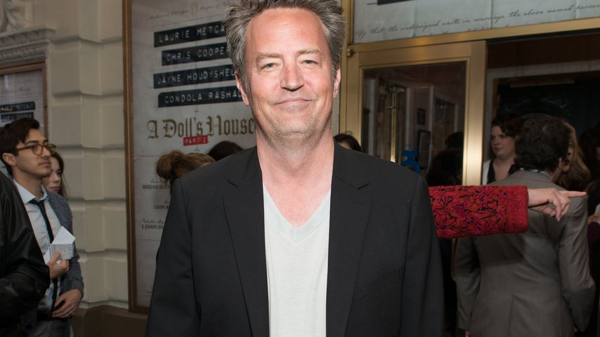"""Matthew Perry bei der """"A Doll's House Part 2""""-Premiere in NYC im April 2017"""