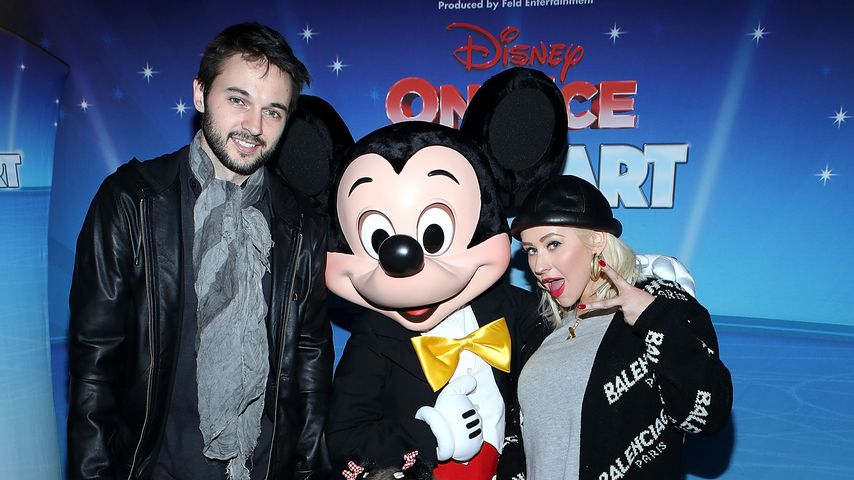 Seltenes Family-Pic: Xtina mit BF & Tochter Summer on tour!
