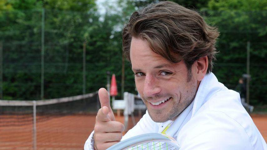 "Matthias Brüggenolte 2014 als Tennislehrer Joe Möller bei ""Sturm der Liebe"""