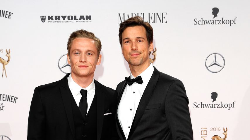 Schauspieler Matthias Schweighöfer und Florian David Fitz