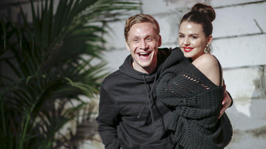 Matthias Schweighöfer und Ruby O. Fee im Februar 2020