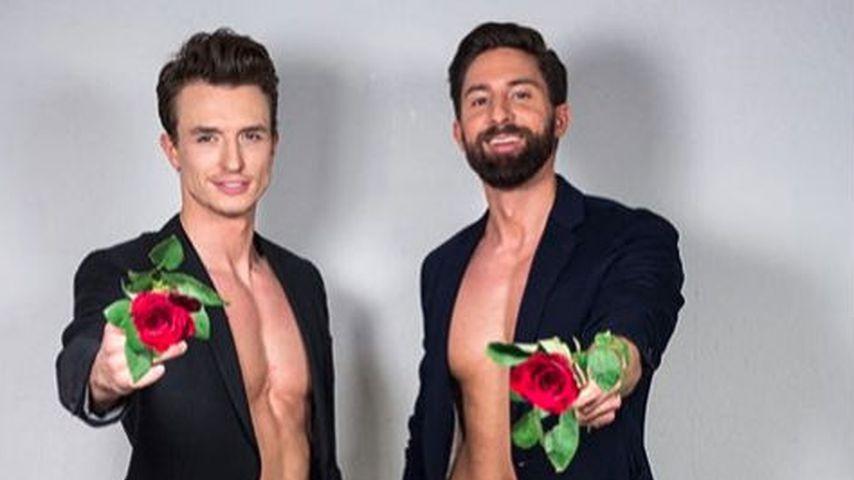 Maxim Sachraj und Sebastian Fobe, deutsche Kuppelshow-Kandidaten