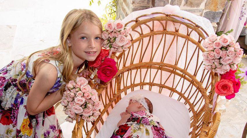 Jessica Simpsons Töchter Maxwell und Birdie
